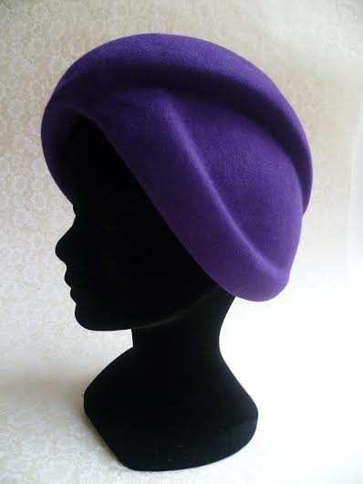 Chapeau forme turban années 60